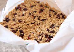 Homemade granola bars recipe I Heart Nap Time | I Heart Nap Time - How to Crafts, Tutorials, DIY, Homemaker
