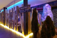 Projekt in Avstria. Wooden space separation by Primusdesigns Hotel Wellness, Fair Grounds, Fun, Travel, Space, Wood Furniture, Voyage, Display, Viajes