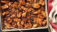 Chorizo Stuffing with Leeks