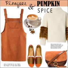 How To Wear Pumpkin Spice Latte Outfit Idea 2017 - Fashion Trends Ready To Wear For Plus Size, Curvy Women Over 20, 30, 40, 50