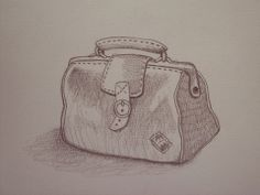 Santiago Régis #illustration #suitcase #vintage #drawing