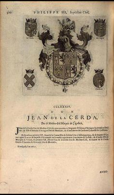 288. 1599; Juan de la Cerda, 6th Duke of Medinaceli (1569-1607).