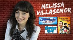 Melissa Villasenor from America's Got Talent  • Finalist on hit television show America's Got Talent   • Movies include The 41 Year Old Virgin Who Knocked Up Sarah Marshall and Felt Superbad About It   • Voice over work on The Family Guy  Rated PG-18  18+ Show