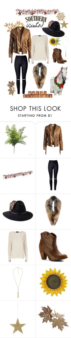 """""""Oh deer, so fab!"""" by jenlalfaro ❤ liked on Polyvore featuring Sans Souci, WithChic, Penmayne of London, Sally Lapointe, Exclusive for Intermix, Not Rated, Charlotte Russe, Bloomingville and scarf"""