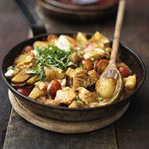 Kartoffel-Lachs-Curry