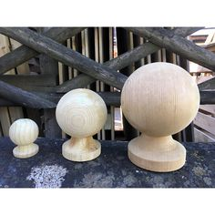 These decorative finials will give your fence posts a decorative finish. They are pressure treated for longer life. We have a large range of fencing accessories; some can be seen online here >>
