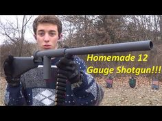 Most homemade, DIY guns are a bad idea. 12 Gauge shotguns made from plumbing parts may be the exception.