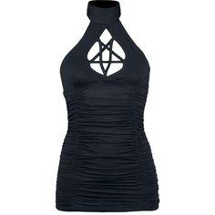Gothicana by EMP  Neckholder  »Pentagram« | Jetzt bei EMP kaufen | Mehr Gothic  Tops  online verfügbar ✓ Unschlagbar günstig!