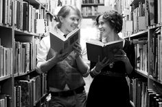 Best friends and books: awesome combination.