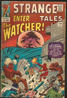 Strange Tales #134 Dr. Strange: Ditko, TORCH THING POWELL W. WOOD 1965 Stan Lee
