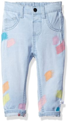 Rosie Pope Baby Girls Denim Jean Light Blue/Multi 24M *** Visit the image link more details. (It is Amazon affiliate link) #BabyGirlClothingCollection