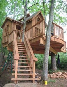 Awesome tree house
