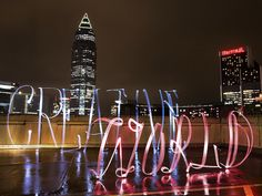 #CreativeWorld #Frankfurt #LightPainting #Lettering #Calligraphy