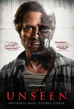 """In a modern retelling of the classic The Invisible Man, THE UNSEEN is the story of Bob (Aden Young), a struggling mill worker, who mysteriously abandoned his family and isolated himself in a small northern town. He returns for one last chance to reconnect with his troubled daughter Eva (Julia Sarah Stone), but when Eva goes missing, Bob will risk everything to find her including exposing the secret that he is becoming invisible."""