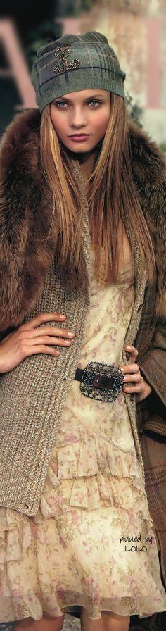 Anna Selezneva for Ralph Lauren. V