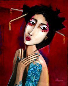 Geisha by Jennifer Yoswa