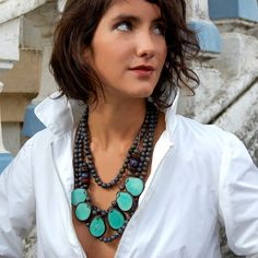 Andean Collection Jewelry South of France Necklace