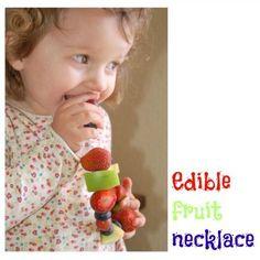 edible fruit necklace