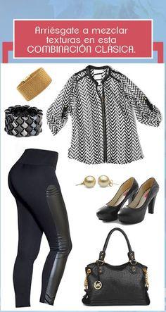 OUTFITS Recomendados #TyTJeans http://jeanstyt.com/portfolio-items/leggins-girasol/