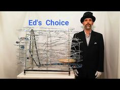 Ed's Choice rolling ball sculpture - YouTube Rolling Ball Sculpture, Marble Toys, Marble Machine, Kinetic Art, Woodworking Plans, Marbles, Museums, Circuit, Youtube