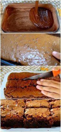 Aprenda a como fazer um Delicioso Brownie de Chocolate, super molhadinho e fácil de fazer. #bolo #brownie #chocolate #doces #sobremesas #receita #gastronomia #culinaria #comida #delicia #receitafacil