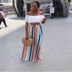 Fashion Styles for Ladies - Great Women Casual Outfits to Try! Casual outfits are lovely wears that definitely would suits your fashion sense and the rules i. Latest Nigerian Fashion Styles, Latest African Fashion Dresses, Types Of Fashion Styles, Classy Outfits, Chic Outfits, Summer Outfits, Fashion Outfits, Ladies Outfits, Black Girl Fashion