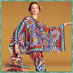 Lasciati ispirare da Discover, il Luxury Magazine Online di Dolce & Gabbana: leggi l'articolo Lo sfrigolante Carretto Siciliano.