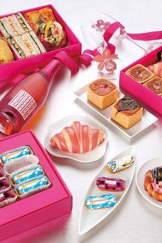 フォションからお花見ボックスが限定発売 - サンドウィッチに桜のパン、エクレアまで