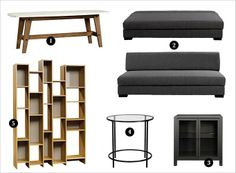 Masculine decor on a budget?? You betcha. We've turned to our friends at Sauder Furniture for the very best: http://bit.ly/STZ6Fv