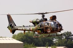 helicopter military Gazelle