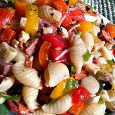 Antipasto Pasta Salad - There's plenty of flavor in this outside-the-box pasta salad.