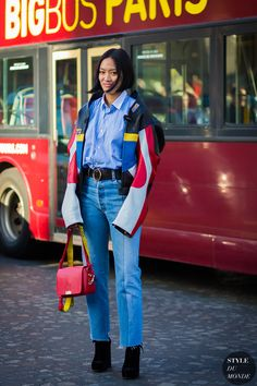 tiffany-hsu-by-styledumonde-street-style-fashion-photography. - Fall-Winter 2017 - 2018 Street Style Fashion Looks Street Style 2017, Street Look, Street Chic, Street Style Women, Street Wear, 2000s Fashion, Fashion 2017, Girl Fashion, Style Fashion