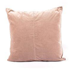 012803904.jpg - Kuddfodral Velvet Dusty Pink 50x50 cm - Heminredning på nätet hos Inreda.com