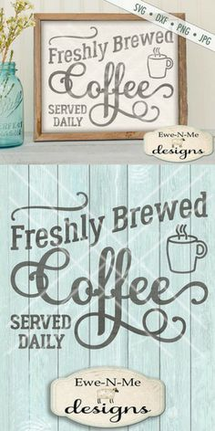 Love this one! Fresh coffee is brewed daily in this house. Lol. Coffee SVG File - coffee cut file - Fresh Brewed Coffee svg - Coffee sign cuttable - Coffee SVG - Commercial Use svg, dxf, png, jpg files