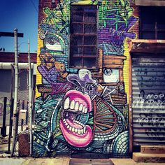 #handpx Bushwick Collective, Brooklyn, New York, June 2013.