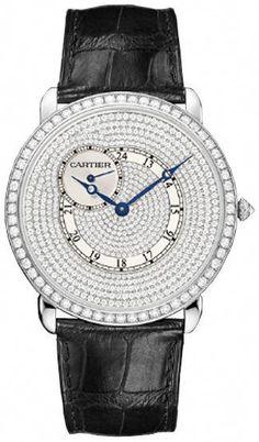 759654c472e Cartier Ronde Louis Mens WR007003  watchmen Hugo Watch