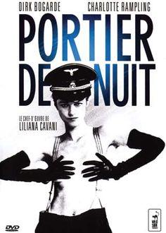 """Le film """"Portier de Nuit"""" en DVD, réalisé par Liliana Cavani avec Charlotte Rampling et Dirk Bogarde."""