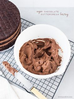 Vegan Chocolate Buttercream by 84thand3rd, via Flickr