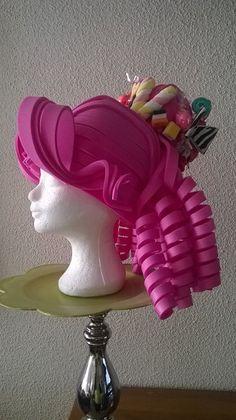 Candy foam wig made by Lady Mallemour Foam Studio