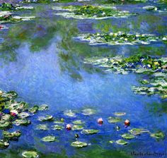 Claude Monet. Water Lilies, 1906