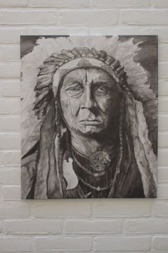 Native Heart by C. Woudenberg Acrylic on canvas by Woodenberg, €400.00