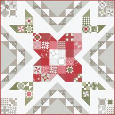 Lella Boutique by Vanessa Goertzen | Quilt Patterns Free, Pattern Blocks, Bloom Book, Summer Quilts, Tree Quilt, How To Finish A Quilt, Red Fabric, Christmas Morning, Autumn Theme