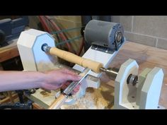 Homemade Lathe Pt. 2 - tool rest and tailstock - YouTube