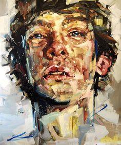 Painting by Andrew Salgado