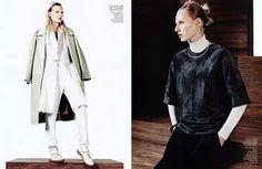 visual optimism; fashion editorials, shows, campaigns & more!: simply sporty furs: julia nobis by sharif hamza for vogue china november 2013...