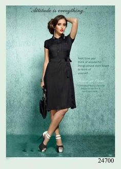 Western Kurtis Black Colored Rayon Cotton Plain Stitched Stylish Kurtis #Cottonkurtis #Cottonkurta #cottonprintedkurtis now available at ladyindia.com
