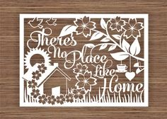There's No Place Like Home PDF SVG Commercial Use by ArtyCuts