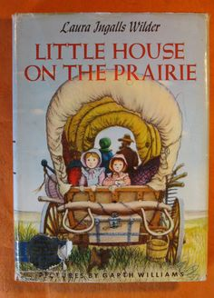 Little House on the Prairie by Laura Ingalls Wilder by Pistilbooks on Etsy Laura Ingalls Wilder, I Love Books, Great Books, Kids Book Series, Tv Series, Black And White Artwork, Young Adult Fiction, Children's Literature, Classic Literature
