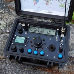 This is an example of previous work and is not for sale. Contact me if you are interested in a custom build similar to this. Survival Fishing, Survival Gear, Survival Life, Ham Radio For Sale, Mobile Ham Radio, Radio Kit, Radio Design, Qrp, Surveillance Equipment