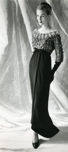 Balenciaga Evening Gown, 1952